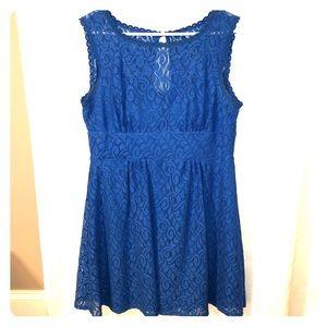 Dress Barn Blue Dress